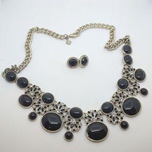 Banana Republic Jewelry - Banana Republic Statement Necklace w/ earrings